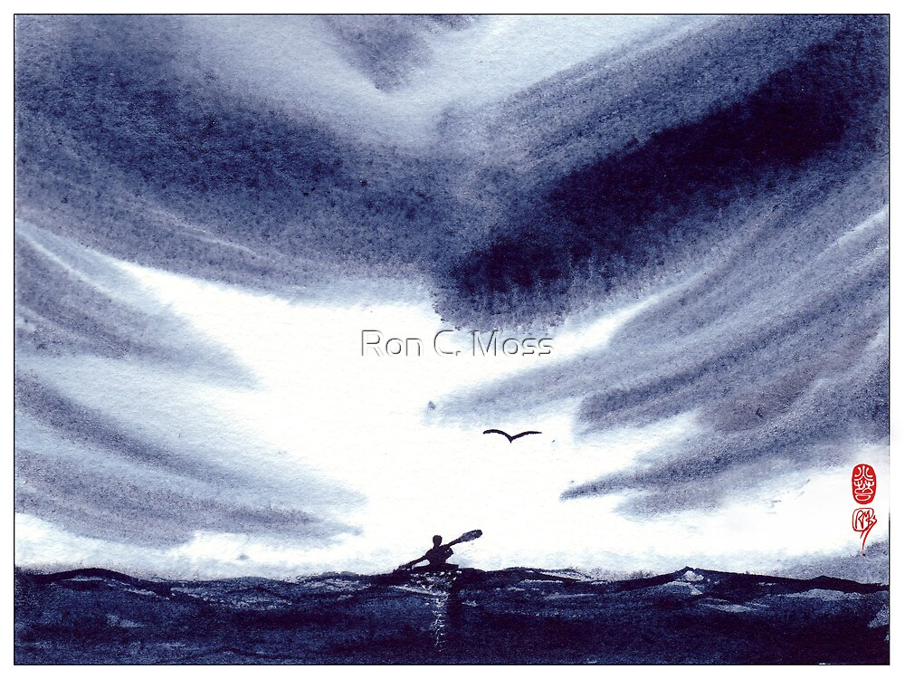 Sea Kayaker by Ron C. Moss