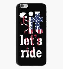 Lets Ride Dirt Bike Humor iPhone Case