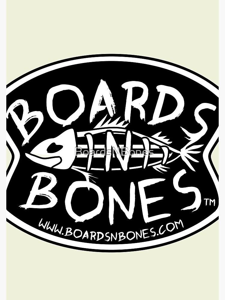 BoardsNBones - Black Logo by BoardsNBones