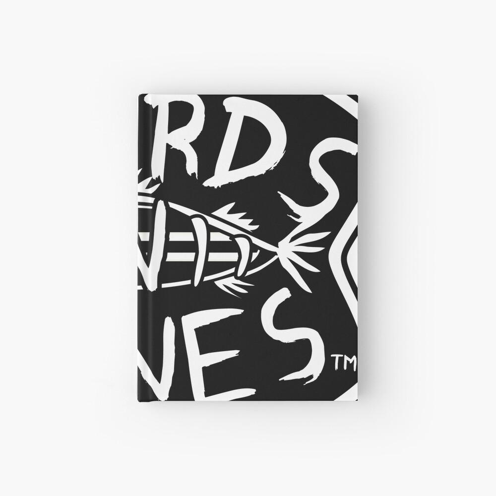 BoardsNBones - Black Logo Hardcover Journal