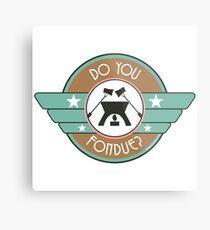 Do You Fondue? Metal Print