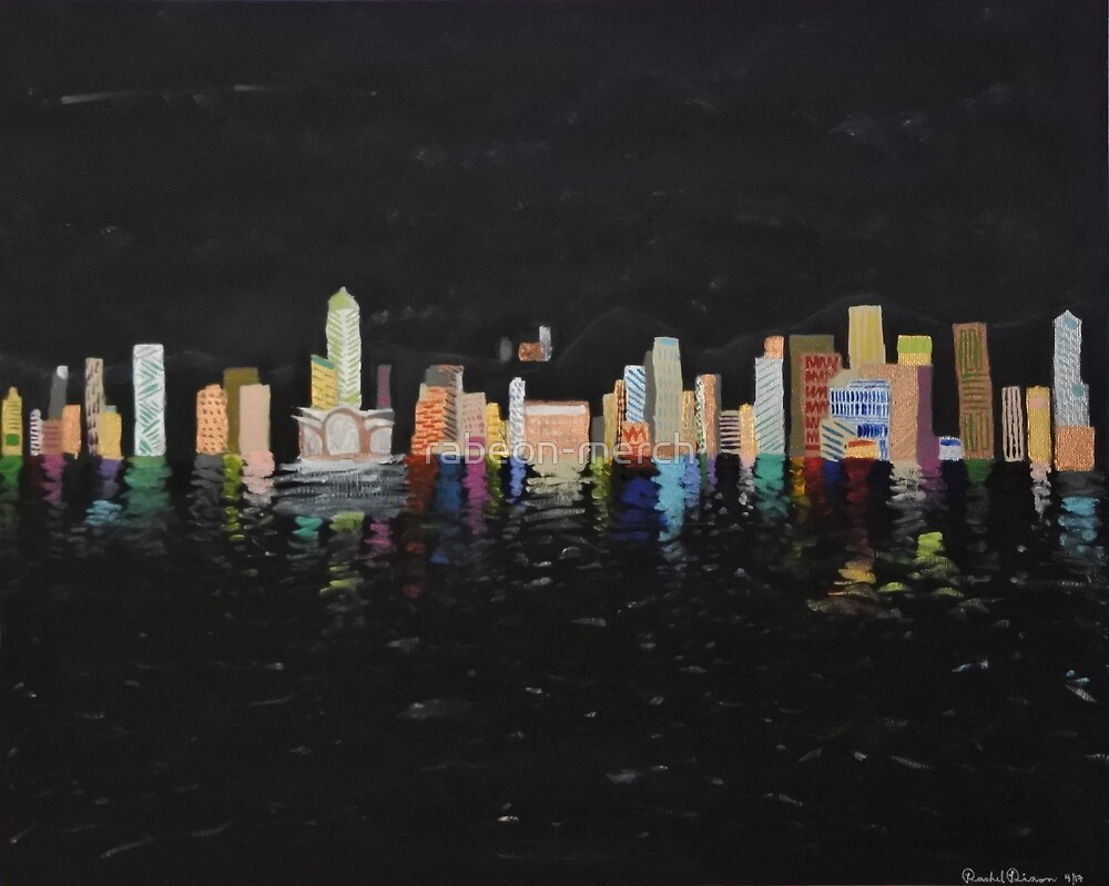 City Skyline by rabeon-merch