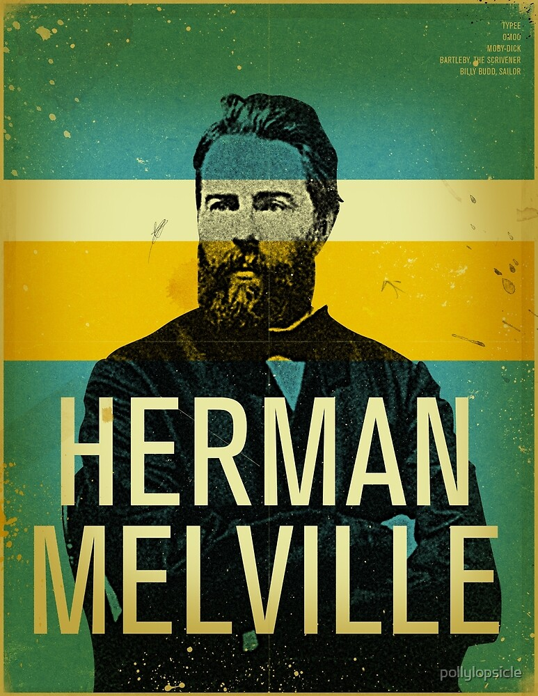 Herman Melville by pollylopsicle