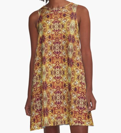 Zen I Am Sacral Flow  A-Line Dress