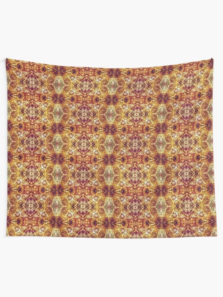 Alternate view of Zen I Am Sacral Flow  Tapestry