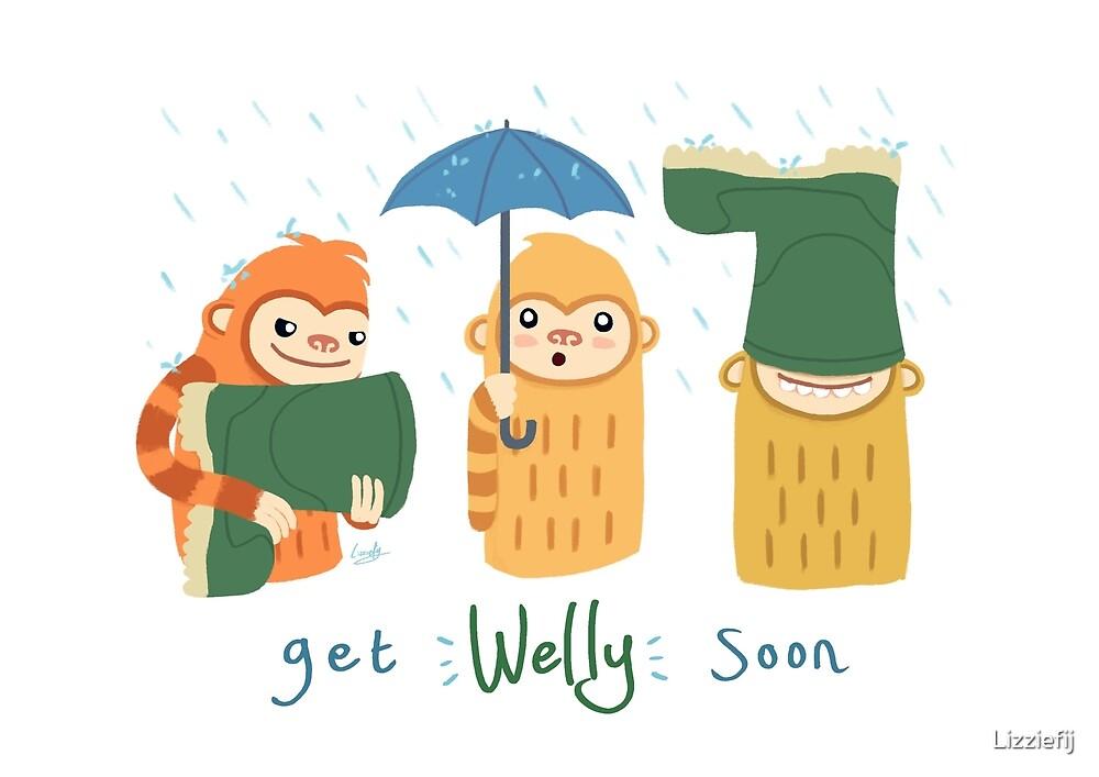 Get Welly Soon Slothmonkeys by Lizziefij
