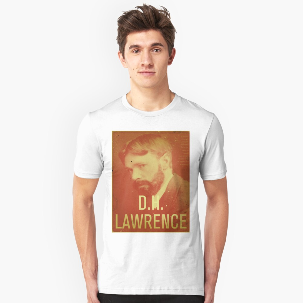 DH Lawrence Unisex T-Shirt Front