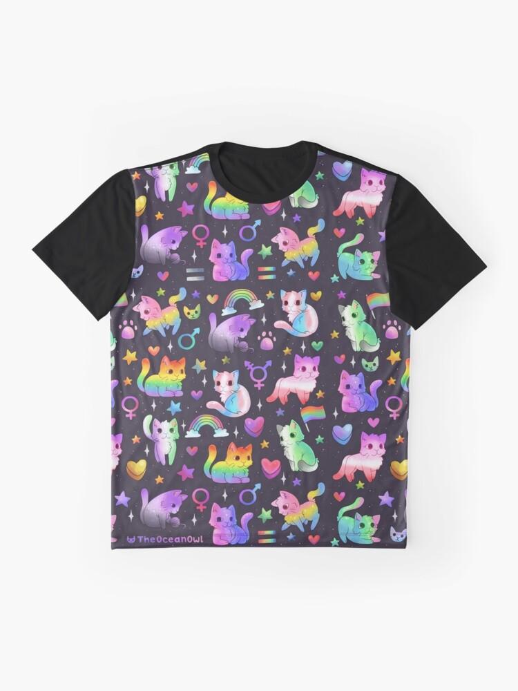 Alternative Ansicht von Stolz Katzen Grafik T-Shirt