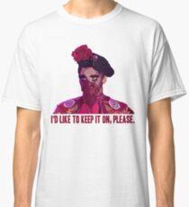 """Valentina Maske """"Ich würde es gerne behalten, bitte"""" Classic T-Shirt"""