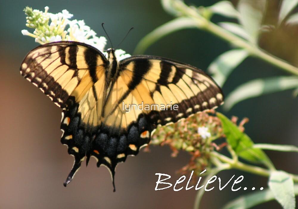 Believe... by lyndamarie