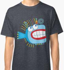Crazy Party Fish Classic T-Shirt