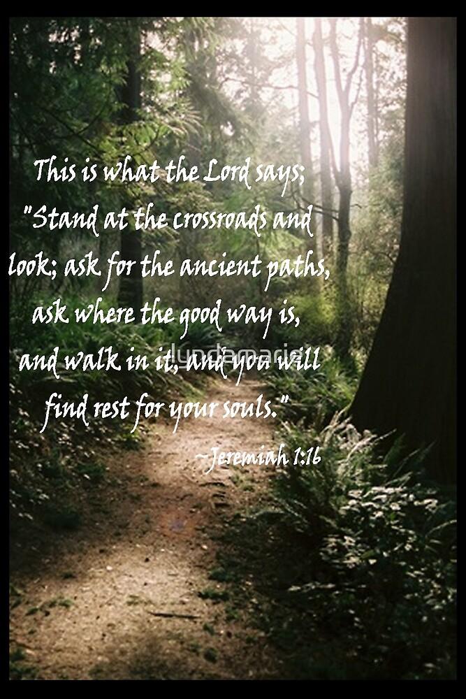 Jer. 1:16 by lyndamarie