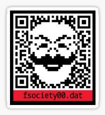 fsociety code Sticker