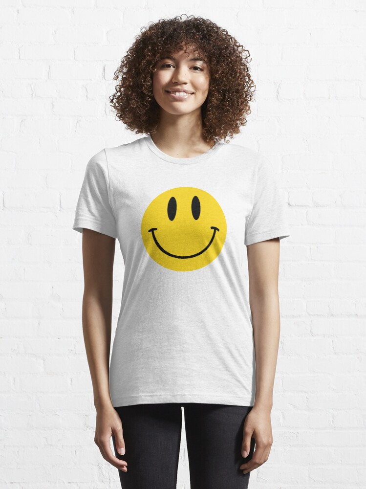 Alternate view of Classic Acid House Smile  Essential T-Shirt