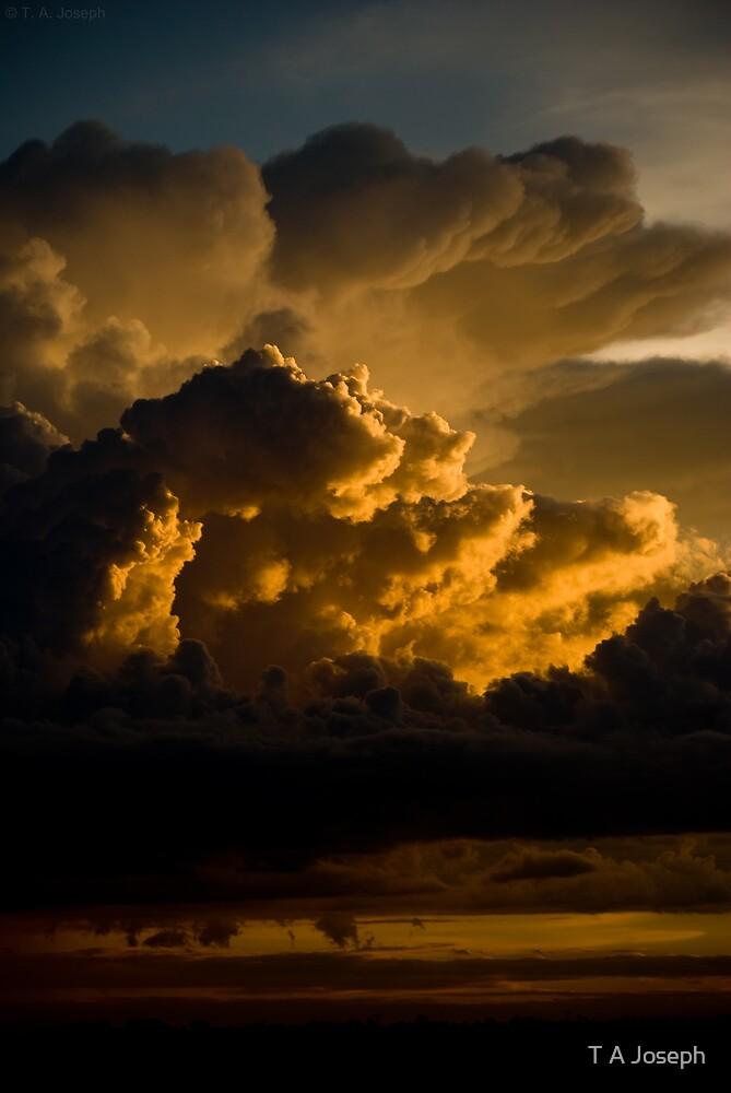 Firing up the sky by T A Joseph