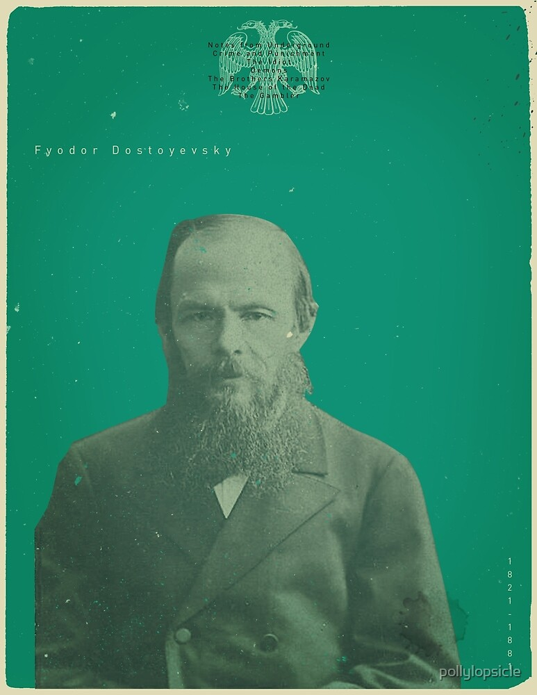 Dostoevsky by pollylopsicle