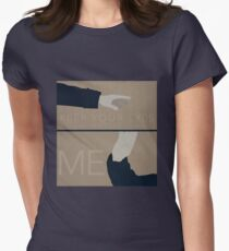 Keep Your Eyes Fixed On Me Women's Fitted T-Shirt