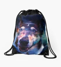 Galaxy Eyes Drawstring Bag