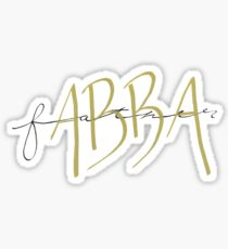 Abba, Father Sticker