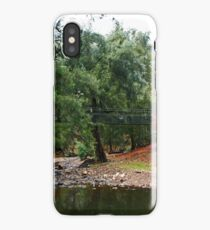 Suspension Bridge At Abercrombie iPhone Case/Skin