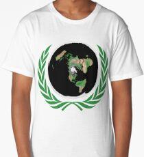 Flat Earth Long T-Shirt