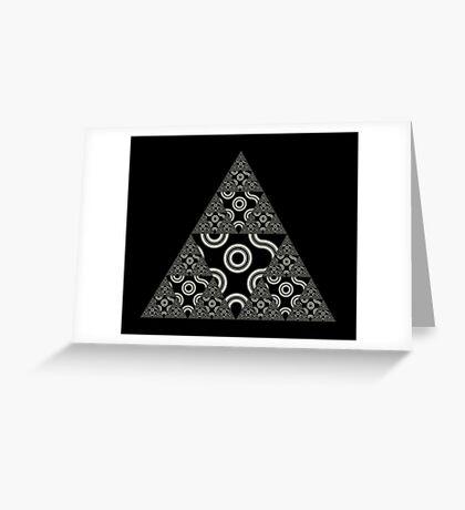 Sierpinski IV Greeting Card