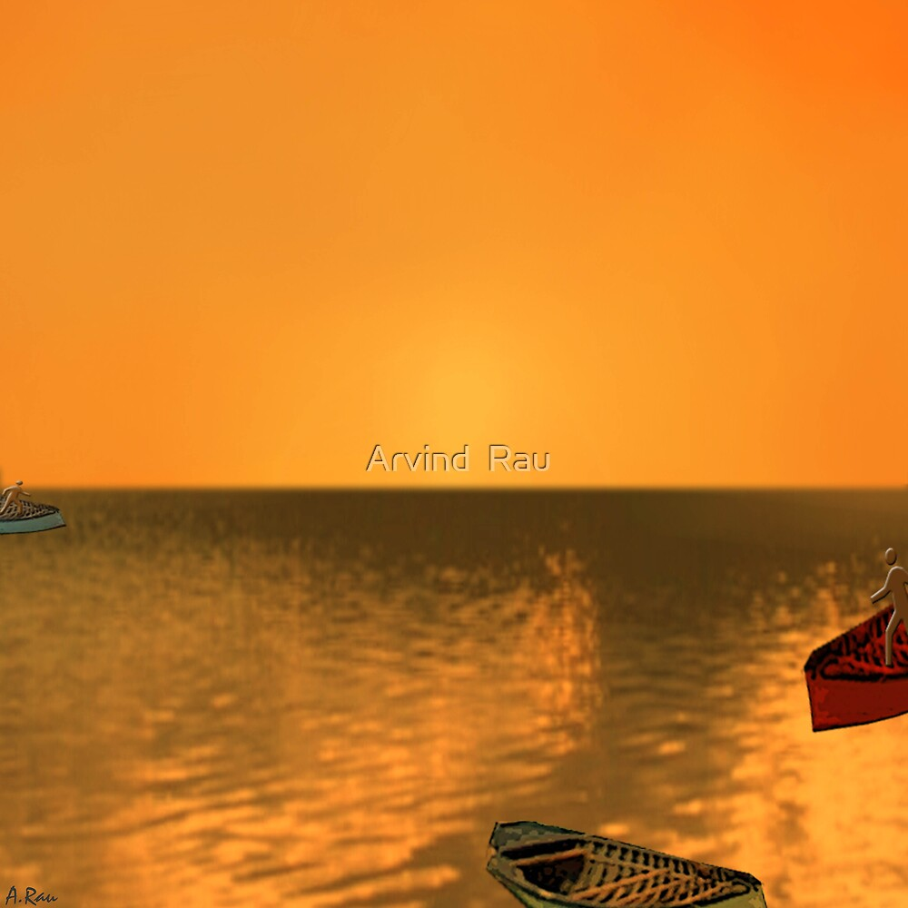 Sunset Point by Arvind  Rau
