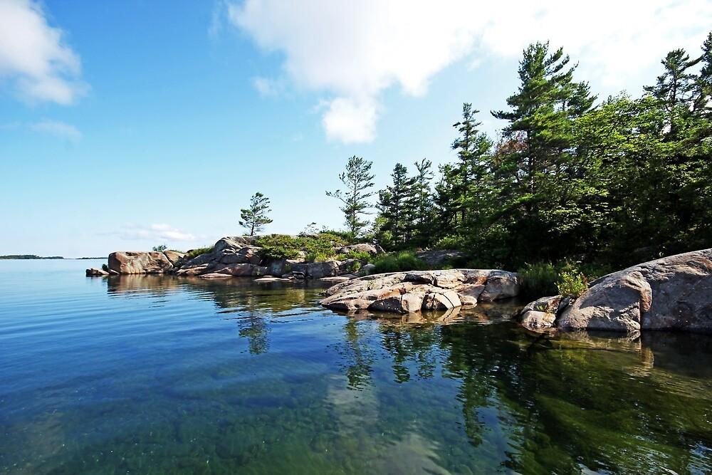Franklin Island Shallows by Debbie Oppermann