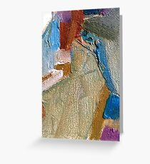 abstraction series design  Greeting Card