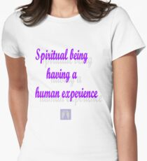 Spiritual beings  Women's Fitted T-Shirt