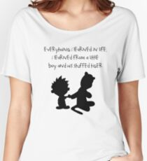 Hobbes Friendly Quotes Women's Relaxed Fit T-Shirt