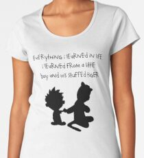 Hobbes Friendly Quotes Women's Premium T-Shirt