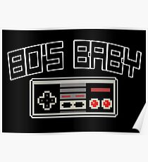 80's Baby Poster