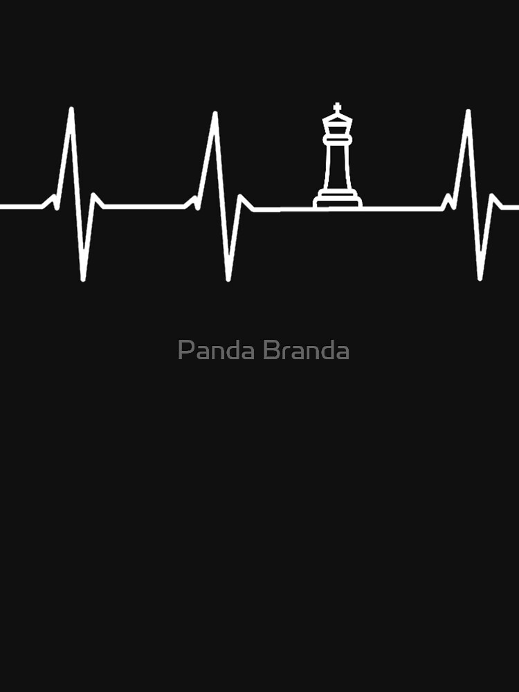 Chess Heartbeat Art Design by CrusaderStore