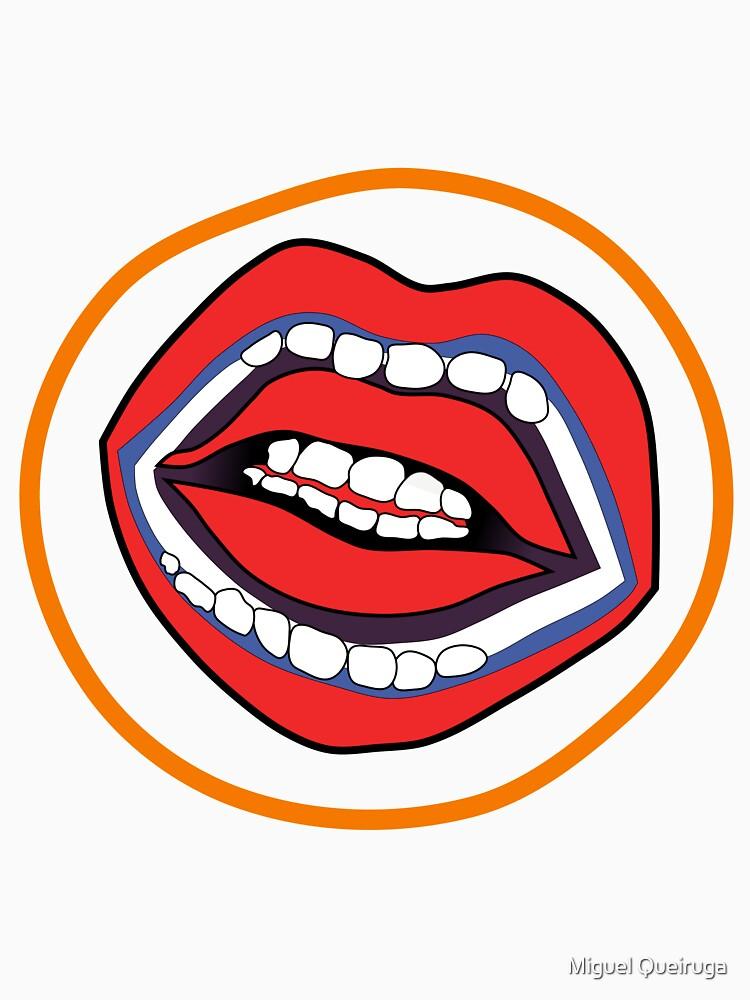 "Double set of teeth from ""A Clockwork Orange"" by qqqueiru"