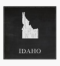 Idaho - Chalk Photographic Print