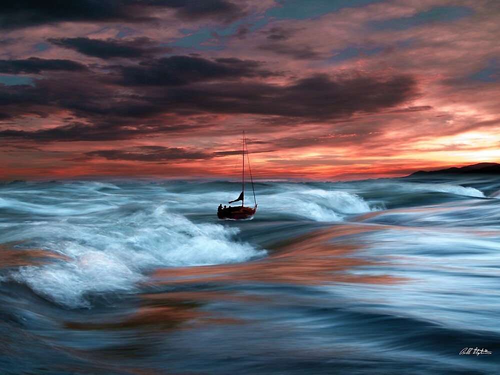 Sea Billow Roll by Bill Stephens