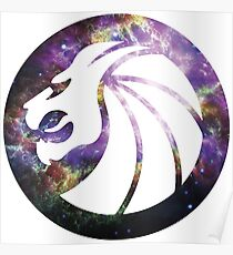 Seven Lions Galaxy Poster