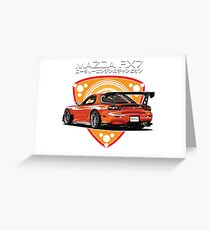 Mazda RX7 efini Greeting Card