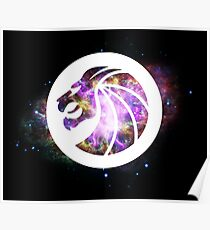 Seven Lions - Space Poster