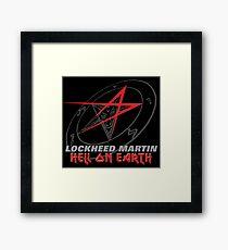 Lockheed Martin - Hell On Earth Framed Print