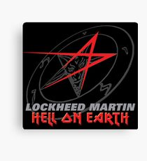 Lockheed Martin - Hell On Earth Canvas Print