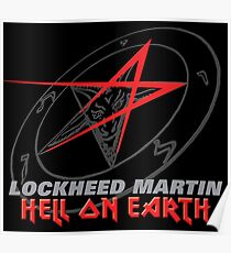 Lockheed Martin - Hell On Earth Poster