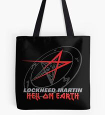 Lockheed Martin - Hell On Earth Tote Bag