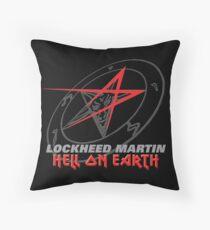 Lockheed Martin - Hell On Earth Throw Pillow
