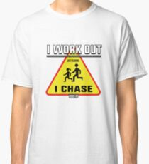 I Chase Toddlers Art Design Classic T-Shirt