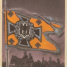 German Army 1930`s Flag by Remo Kurka