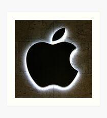 Lámina artística Apple Store Logo
