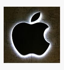 Apple Store Logo Photographic Print