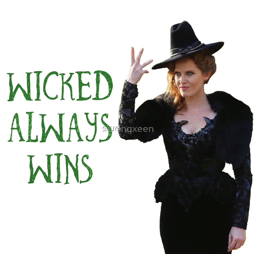 Zelena Once Upon A Time Wicked Always Wins by swenqxeen